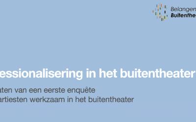 Resultaten enquête Professionalisering van het Buitentheater